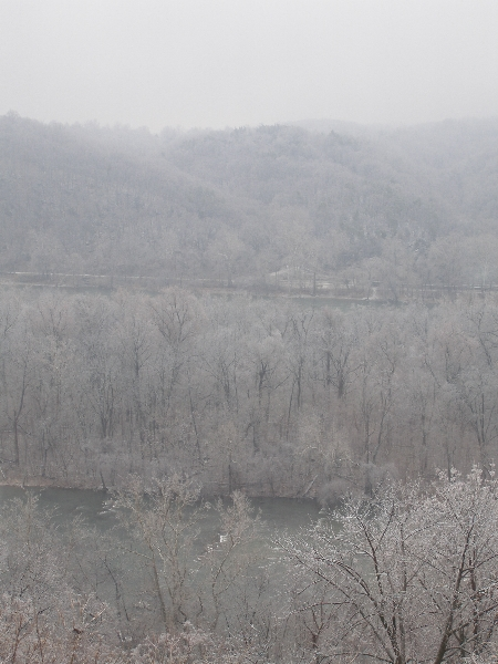 Winter Overlooking the Potomac
